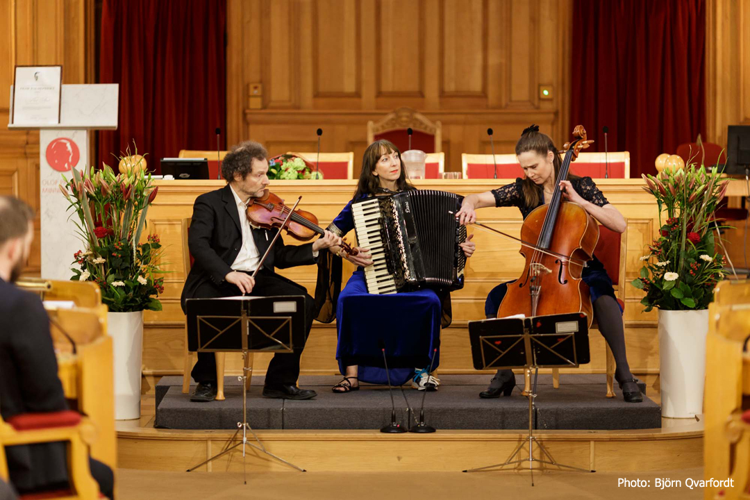 Stahlhammer Klezmer Classic Trio, The Swedish Parliament, 2018