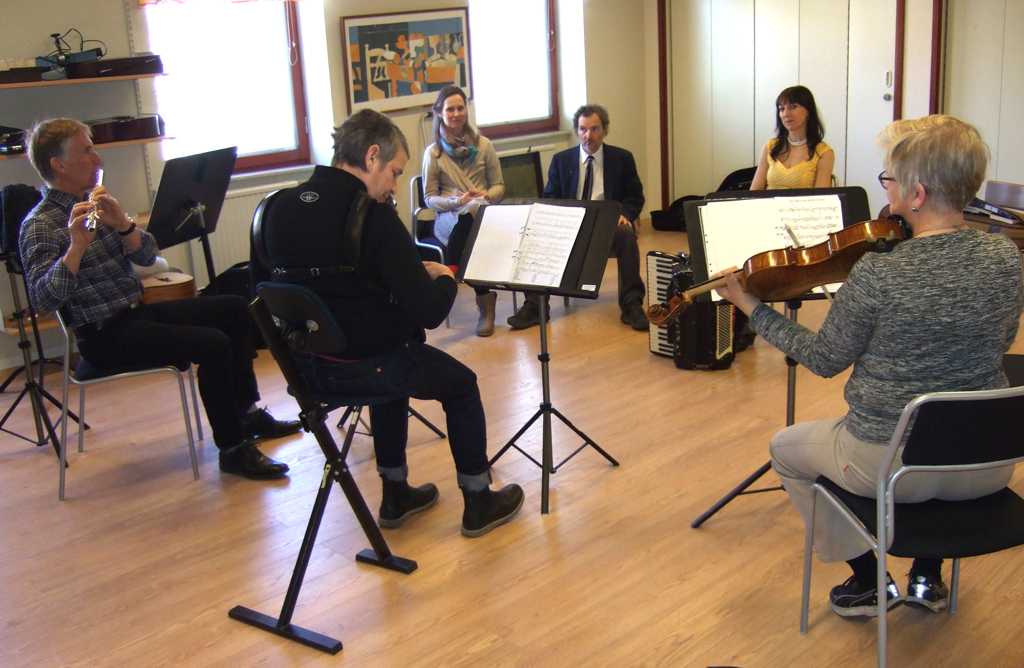 Stahlhammer Klezmer workshop